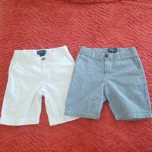 2 pairs Boys size 6 shorts